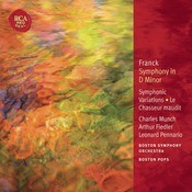 Franck: Symphony In D Minor; Le Chasseur Maudit; Symphonic Variations: Classic Library Series Songs