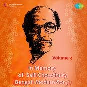 In Memory Of Salil Chowdhury Vol 3 (modern Songs) Songs