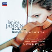 Beethoven & Britten: Violin Concertos Songs