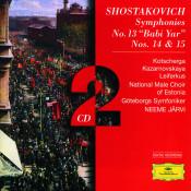 Shostakovich Symphonies Nos 13 Babi Yar 14 Songs