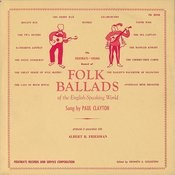 Folk Ballads Of The English-Speaking World Songs