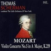 Mozart: Violin Concerto No. 5 in A Major, K.219 Songs