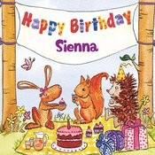 Happy Birthday Sienna Songs