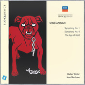 Shostakovich: Symphonies Nos.1 & 9; The Age of Gold Songs