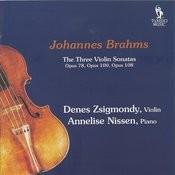 Violin Sonata No. 3 In D Minor, Op. 108: I. Allegro Alla Breve Song
