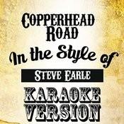 Copperhead Road (In The Style Of Steve Earle) [Karaoke Version] - Single Songs