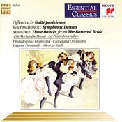 Gaité Parisienne, Symphonic Dances, and Three Dances from the Bartered Bride Songs