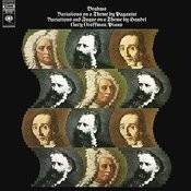 Brahms: Variations on a Theme by Paganini, Op. 35 - Variations and Fugue in B-Flat Major on a Theme by Handel, Op. 24 Songs