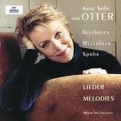 Beethoven / Meyerbeer / Spohr: Lieder Songs