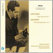 Saint-Saëns: Violin Concerto No.3; Vieuxtemps: Violin Concertos Nos.4 & 5 Songs