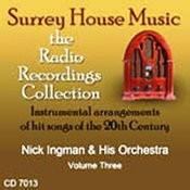 Nick Ingman & His Orchestra, Vol. 3 Songs