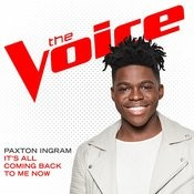It's All Coming Back To Me Now (The Voice Performance) Songs
