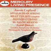 Copland: Billy the Kid - complete ballet - Street in a Frontier Town Song