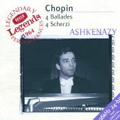 Chopin 4 Ballades 4 Scherzi Songs