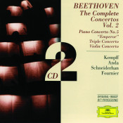Beethoven: Triple Concerto / Brahms: Double Concerto Songs