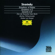 Stravinsky: Symphony in C; Symphony of Psalms; Concerto in D Songs