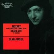 Mozart Piano Concerto No 20 K 466 Scarlatti D 11 Sonatas Songs