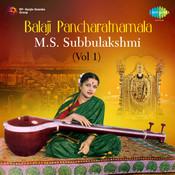 Subbulaksmi - Balaji Pancharatnamala Vol 1 Songs