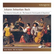 Bach: The Suites For Violoncello Solo; Sonatas For Viola Da Gamba & Harpsichord Bwv 1028 & 1029 Songs