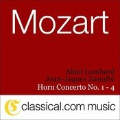 Wolfgang Amadeus Mozart, Horn Concerto No. 1 In D, K. 412 Songs