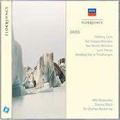 Grieg: Holberg Suite; Two Elegiac Melodies; Two Nordic Melodies Songs
