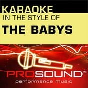 Karaoke: In The Style Of The Babys - Ep (Professional Performance Tracks) Songs