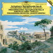 Schubert: Symphonie No. 8 / Mendelssohn: Symphony No. 4 Songs