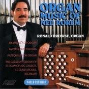 Organ Music Of Ned Rorem Songs