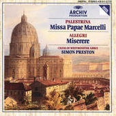 Palestrina: Missa Papae Marcelli / Allegri: Miserere Songs