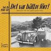 Det Var Bättre Förr Volym 2b 1936-1940 Songs