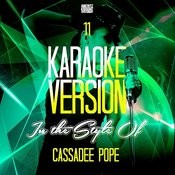11 (In The Style Of Cassadee Pope) [Karaoke Version] Song