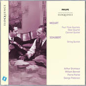 Mozart: Four Flute Quartets; Oboe Quartet; Clarinet Quintet; Schubert: String Quintet Songs