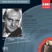 Puccini: Gianni Schicchi, etc Songs