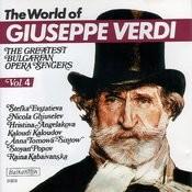 The World Of Guiseppe Verdi, Vol.4 Songs