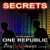Secrets (In The Style Of One Republic) Song