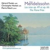 Les Trios Op. 49 Et Op. 66 Songs