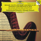 Mozart: Flute & Harp Concerto K.299; Sinfonia concertante K.297b Songs