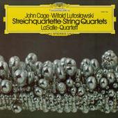 Lutoslawski: String Quartet (1964) / Penderecki: Quartetto per archi (1960) / Mayuzumi: Prelude for String Quartet (1961) / Cage: String Quartet in Four Parts (1950) Songs