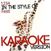 1234 (In The Style Of Feist) [Karaoke Version] - Single Songs
