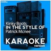 Kinky Boots (In The Style Of Patrick Mcnee) [Karaoke Version] - Single Songs