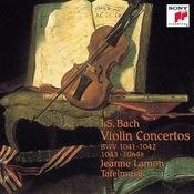 Bach:  Concertos For Violin Songs