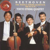 Beethoven: Middle Quartets Opp. 59, 74, 95 Songs