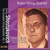 Shostakovich: The String Quartets, Vol. 3 Songs