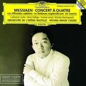 Messiaen Concert A Quatre Les Offrandes Oubliees Le Tombeau Resplendissant Un Sourire Songs