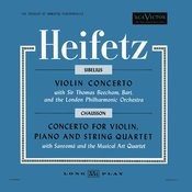 Sibelius: Violin Concerto, Op. 47, In D Minor, Chausson: Concerto For Violin, Piano & String Quartet, Op. 21 In D Songs