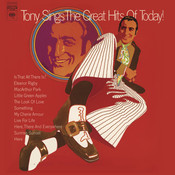 Tony Sings The Great Hits Of Today! Songs