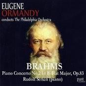 Brahms: Piano Concerto No. 2 in B-Flat Major, Op. 83 Songs