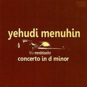 Mendelssohn: Concerto In D Minor Songs