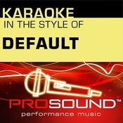 Wasting My Time (Karaoke Instrumental Track)[In The Style Of Default] Song