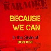 Because We Can (In The Style Of Bon Jovi) [Karaoke Version] - Single Songs